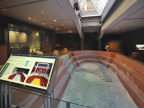 Museo de las Termas Públicas de Caesaraugusta de Zaragoza ruta dos días