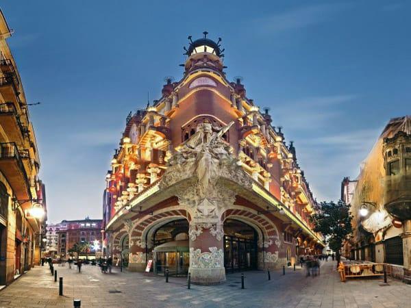 Palacio de la Música Catalana de Barcelona - 3 días en Barcelona - Ilutravel.com