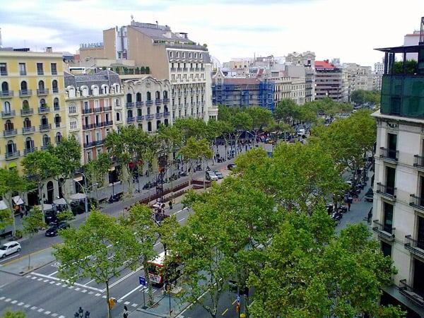 Paseo de Gracia de Barcelona - Visitar Barcelona 3 días - Ilutravel.com