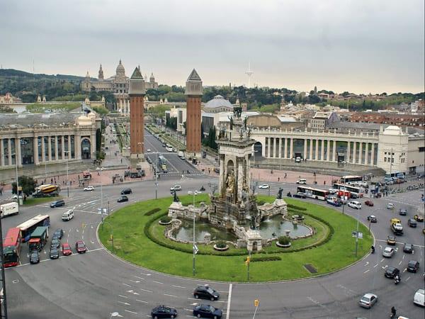 Plaza de España de Barcelona - ver Barcelona 3 días - Ilutravel.com