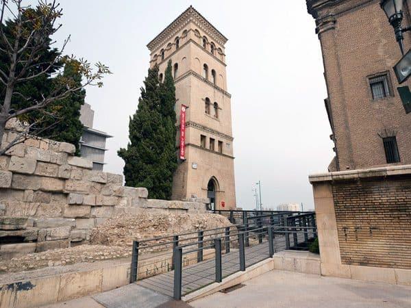 Torreón de la Zuda de Zaragoza que ver