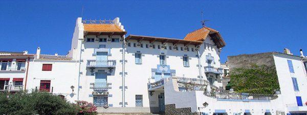 Casa de Don Octavio Serinyana o Casa Blaua
