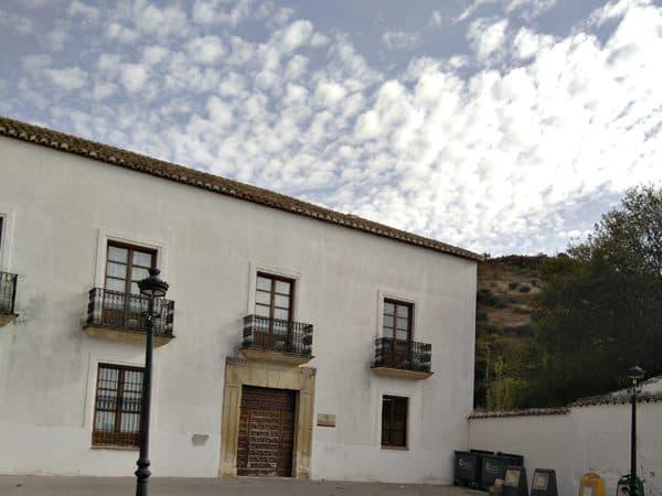 Foto Superior Convento San Antonio Montefrío - visitar Montefrío - Ilutravel.com