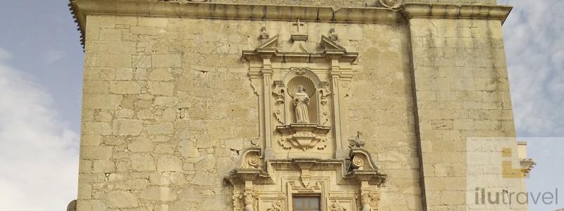 Foto superior iglesia de San Antonio