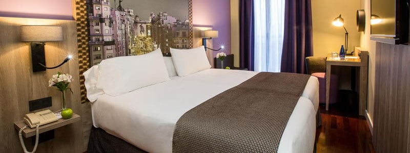 Reserva ahora Igualamos el precio Leonardo Hotel Madrid City Center - Ilutravel.com