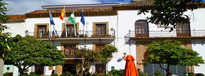 Ayuntamiento de MArbella - Lugares de interés que ver en Marbella - Ilutavel.com
