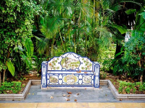 Parque de la Alameda de Marbella - Ver Marbella y Puerto Banús en un día - Ilutravel.com