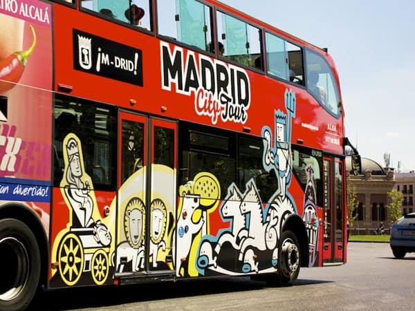 Autobuses Turísticos de Madrid - Ilutravel.com