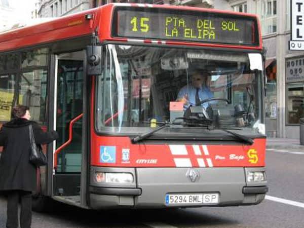 Autobuses urbanos de Madrid - Ilutravel.com