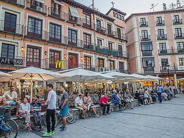 Plaza de zocodover de Toledo - Ilutravel.com