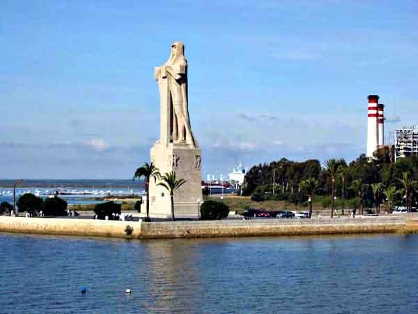 Monumento a la Fé Descubridora de Huelva - lugar que visitar de turismo por Huelva - Ilutravel.com