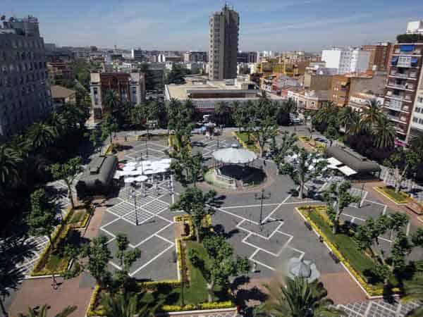 Paseo San Francisco Badajoz - ilutravel -