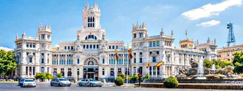 Ayuntamiento de Madrid y Fuente de Cibeles Madrid - ilutravel.com