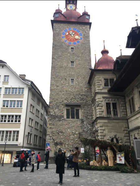 Vista de Kornmarkt Lucerna