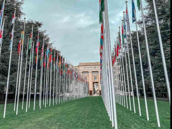 PAlacio de las Naciones de Ginebra