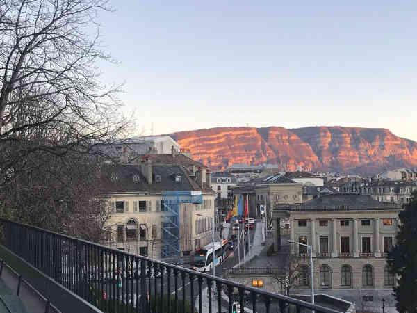 Promenade de la Treille de Ginebra