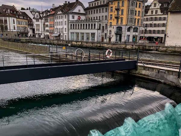 Spreuer Bridge de Lucerna