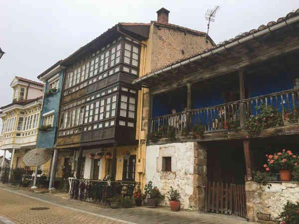 Vista de las calles de Torazo
