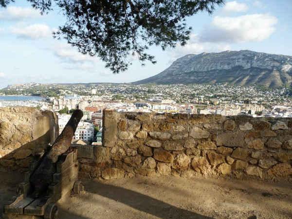 Vistas desde el Castillo de Denia