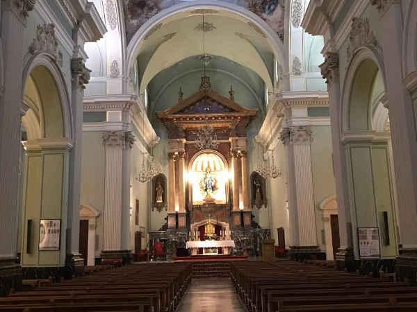 Vista interior de Parroquia Nuestra Señora de la Asunción