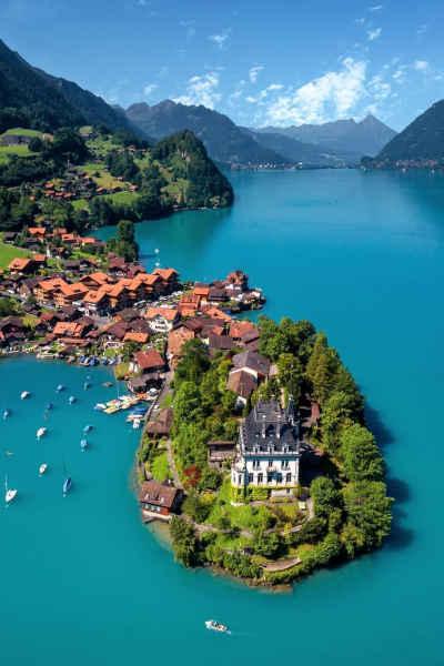 Lago Brienz en Interlaken