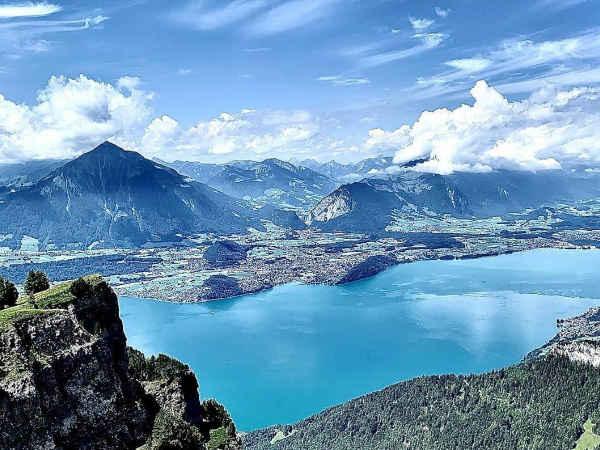 Lago Thun de Interlaken