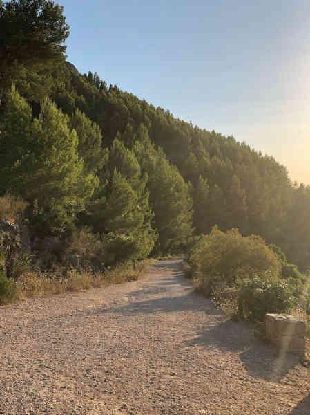 Vista de Sendero del Macizco de Montgó