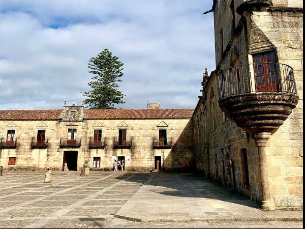 Foto del casco histórico de Cambados