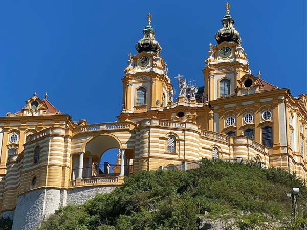 Abadía de Melk en Austria