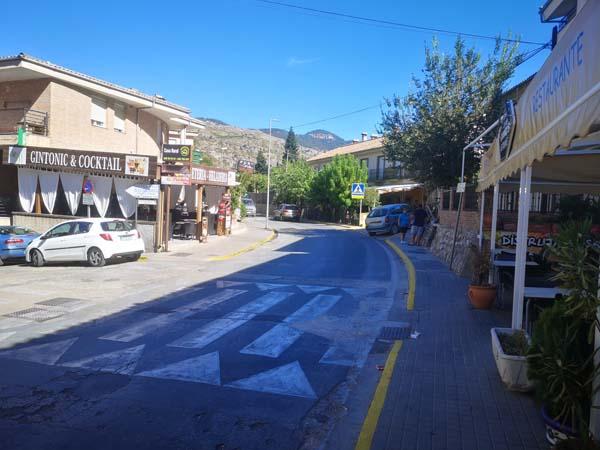 Calle Principal de Arroyo Frío (LA Iruela)