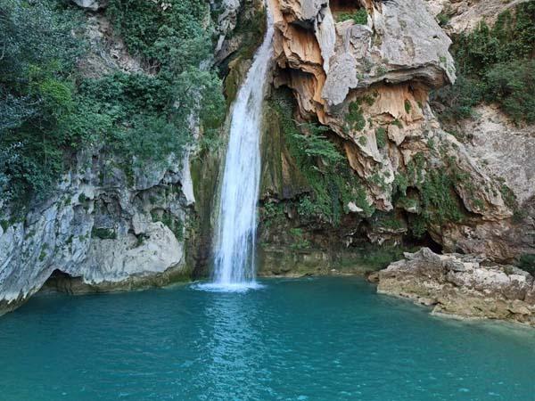 Cascada en la ruta del Río Borosa