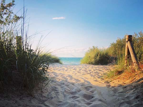 Warnemunde Beach Rostock