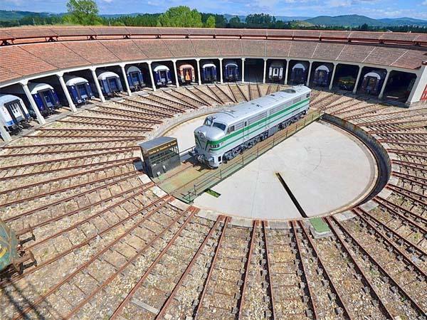 Museo del Ferrocarril Monforte de LEmos