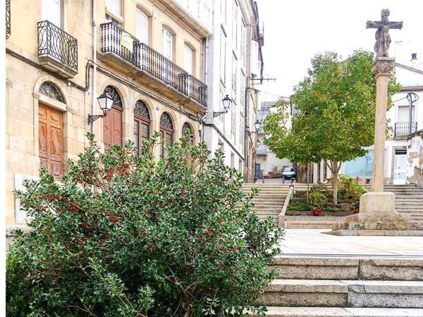 Plaza España Juderia Monforte de Lemos