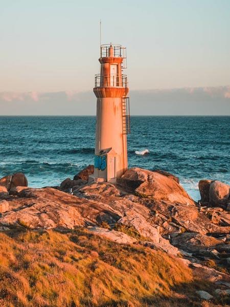 Faro en el Cabo Touriñan Muxia
