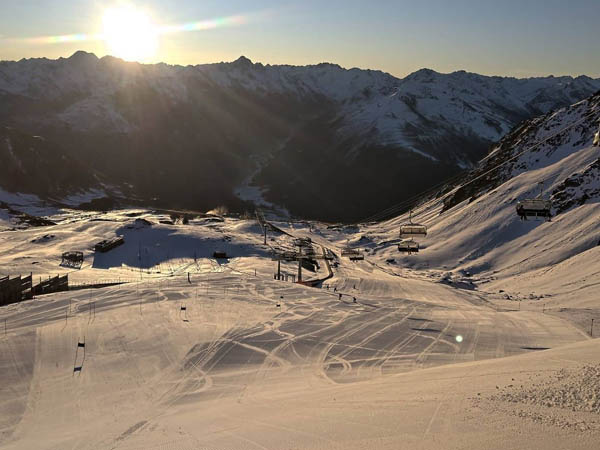 Davos Suiza, foto de las montañas