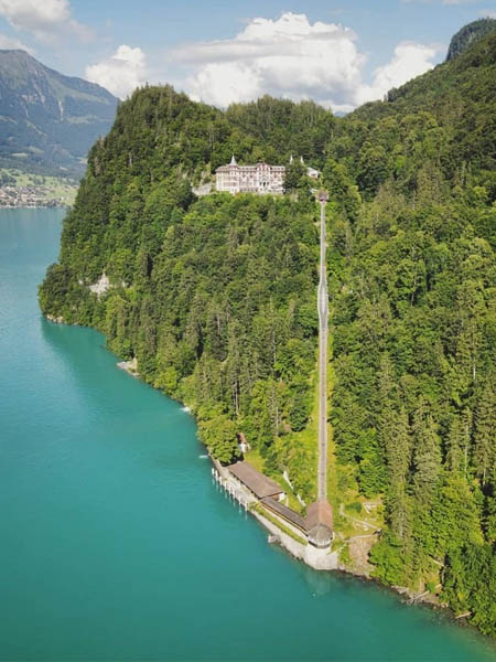Giessbach Waterfall Suiza