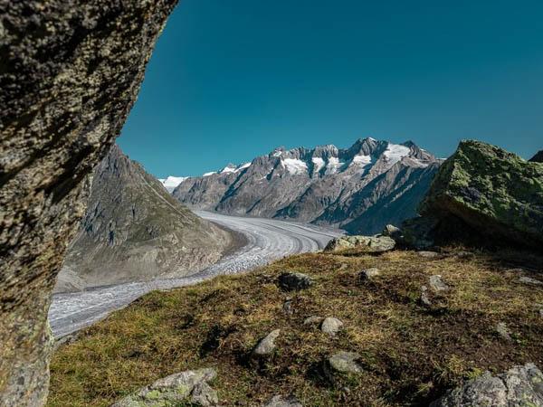 Glaciar Aletsch de Suiza. Lugares que ver en Suiza