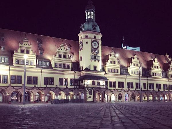 Markt Leipzig lugar para ir en el centro de LEipzig