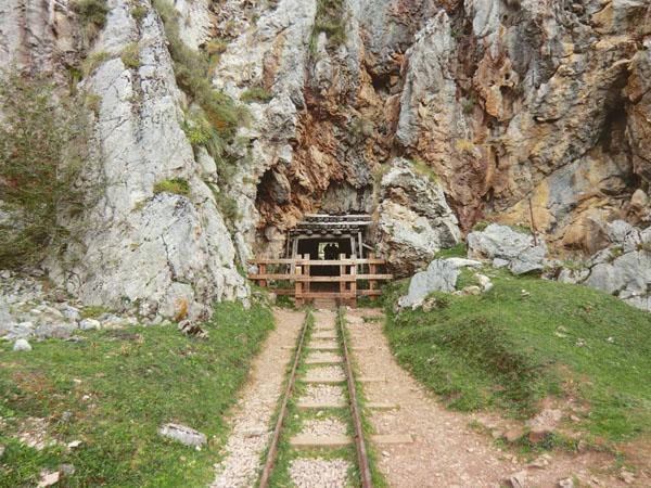 Minas de Buferrera de Cangas de Onís en Lagos de Covadonga