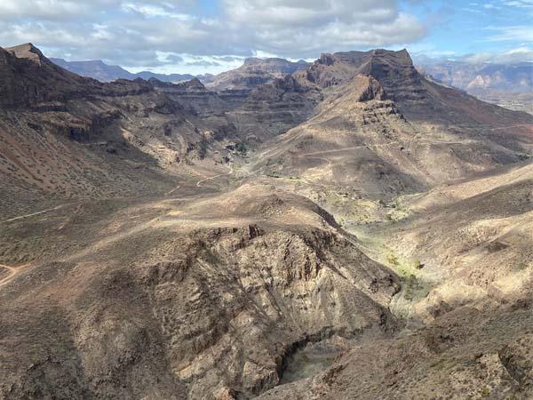 Mirador degollada, 5 días de turismo en La Gomera