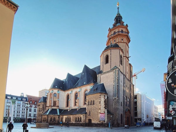 Iglesia de San Nicolás Leipzig, sitios que ver en Leipzig