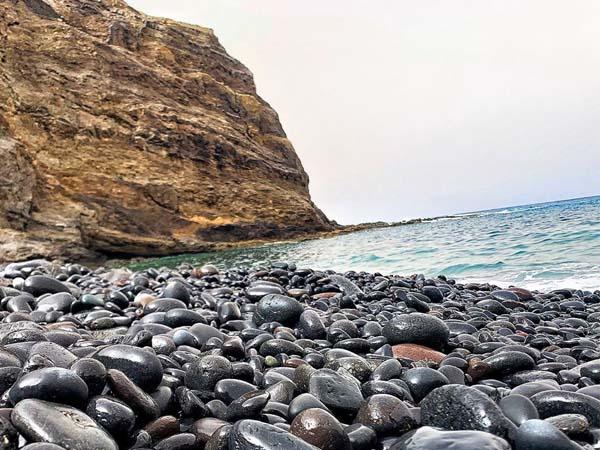 Playa de Alojera de La Gomera, 5 días de viaje a La Gomera