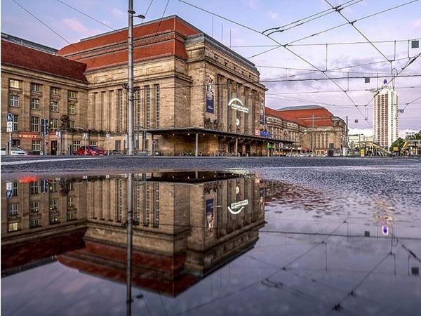 Centro histórico de Leipzig