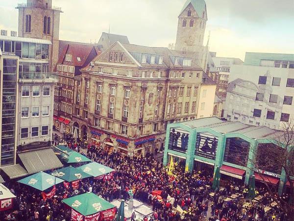 Foto aérea de Alter Markt de Dortmund