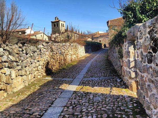 Foto de las calles de Bonilla de la Sierra