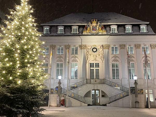 Althes Rathaus de Bonn