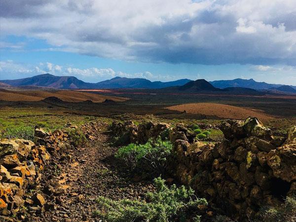 Caldera de Gairía de Fuerteventura