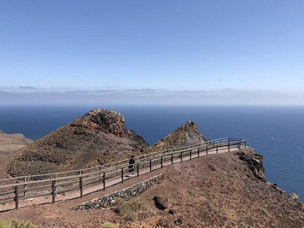 Vistas desde el Mirador de la Entallada - Fuerteventura