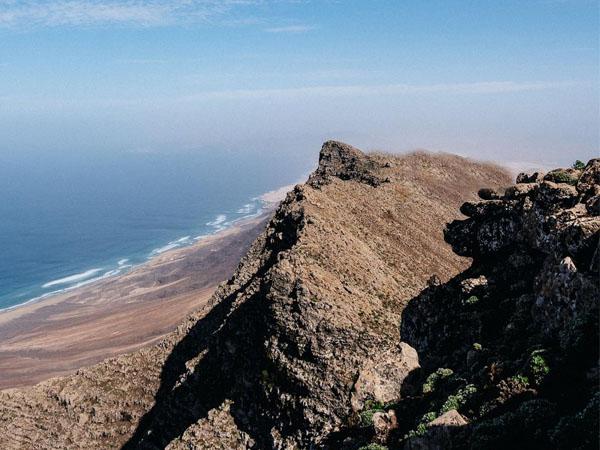 Pico de la Zarza de Fuerteventura